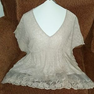 Love Notes Lovely Lacy Top